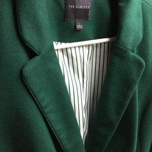 Forest Green The Limited Blazer Sz L